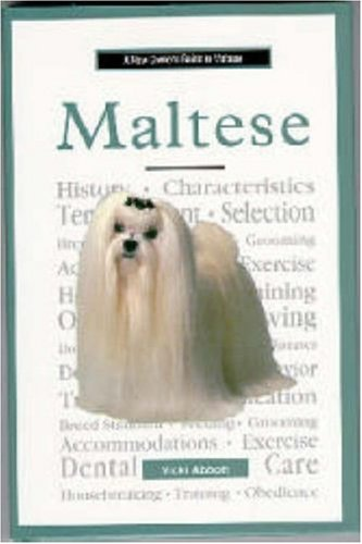 a new owners guide to maltese abbott 1997