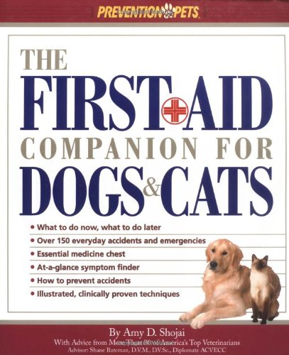 the first aid companion for dogs cats shojai 2001