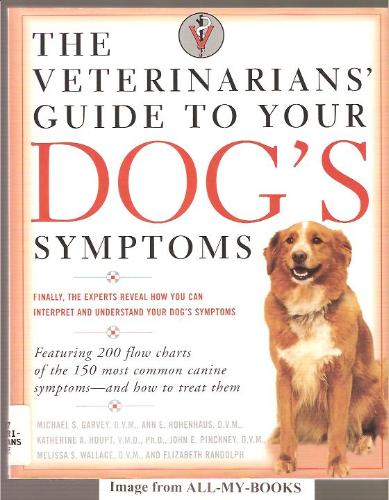 the veterinarians guide to symptoms garvey hohenhaus pinckney houpt randolph 1999