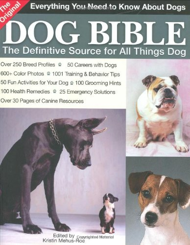 the original dog bible  mehus-roe 2005